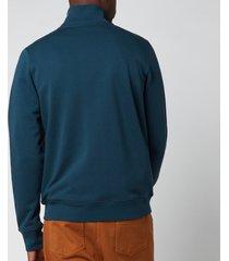 ps paul smith men's regular fit zip track jacket - navy - xxl
