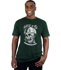 camiseta ventura skate or die verde - kanui