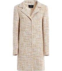 lurex-knit coat