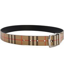 burberry reversible belt vintage check