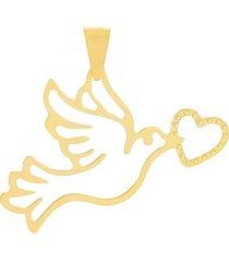 ciondolo in oro giallo per donna