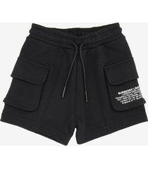 burberry loren cargo bermuda shorts