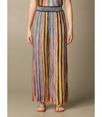 missoni pants missoni pants in lurex striped knit