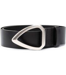 isabel marant two-tone belt - black
