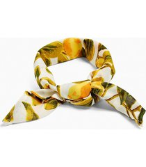 mens yellow lemon print bandana*