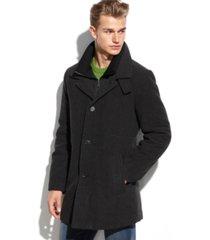 calvin klein coleman wool-blend overcoat