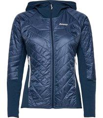 cecilie lt ins hybrid jkt outerwear sport jackets blauw bergans