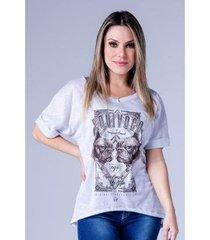 camiseta equivoco oversized mayara feminina