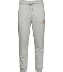 archive shield sweat pants sweatpants mjukisbyxor grå gant