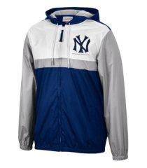 mitchell & ness new york yankees men's victory windbreaker jacket