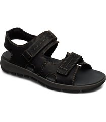 brixby shore shoes summer shoes sandals svart clarks