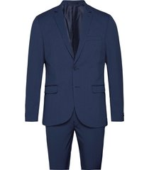 suit pak blauw casual friday
