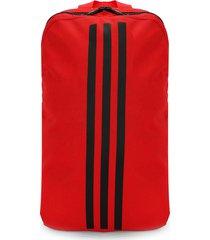 morral  rojo-negro adidas performance classic 3 rayas