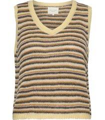 miley vest vests knitted vests geel lollys laundry