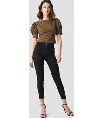 trendyol milla skinny jeans - black