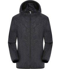 la pesca ropa chaqueta con capucha camiseta unisex ropa impermeable protector solar uv