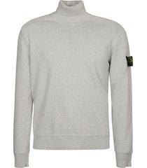 stone island turtleneck sweatshirt