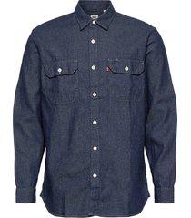jackson worker lt wt cotton he overhemd casual blauw levi´s men