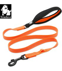 correa truelove nylon neopreno reflectiva naranja original s