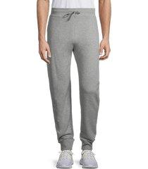 greyson men's cotton-blend bleeker joggers - light grey - size xxl