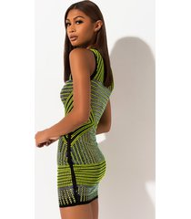akira bright lights big city studded mini dress