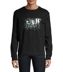 regular-fit dicago iridescent logo sweatshirt