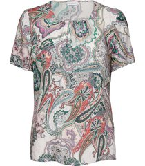 blouse short-sleeve blouses short-sleeved multi/mönstrad gerry weber