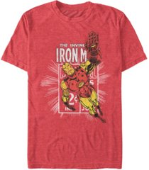 marvel men's comic collection classic iron man short sleeve t-shirt