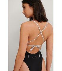 calvin klein pure swimsuit - black