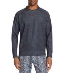 tallia men's slim-fit stretch texture sweat shirt