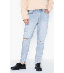 abrand jeans 88 taper jeans ljus blå