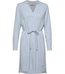 lipa cuba dress jurk knielengte blauw mos mosh