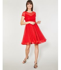 sukienka clova red