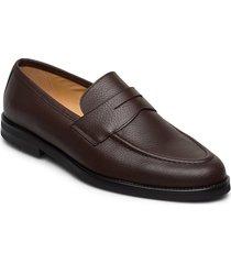 morris penny loafers loafers låga skor brun morris
