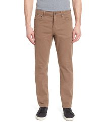 liverpool los angeles regent relaxed straight leg twill pants, size 40 x 32 in cub at nordstrom