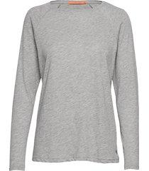 longsleeved t-shirt w. raglan sleev t-shirts & tops long-sleeved grå coster copenhagen