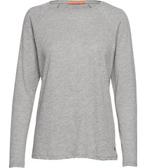 longsleeved t-shirt w. raglan sleev t-shirts & tops long-sleeved grå coster copenhagen
