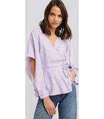 trendyol blus - purple