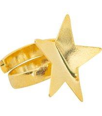 anillo estrella doblado