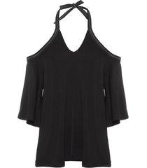 túnica amarração - preto