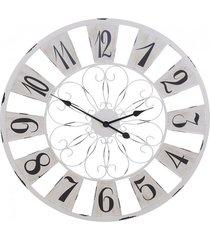 zegar ścienny metalowy