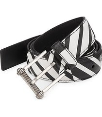 classic saffiano leather belt