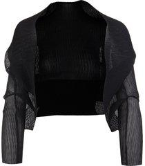 black vesuvio blazer