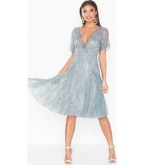nly eve sheer lace dress loose fit