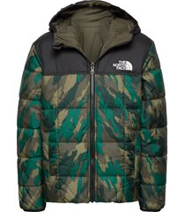 b reversible perrito jacket gevoerd jack groen the north face