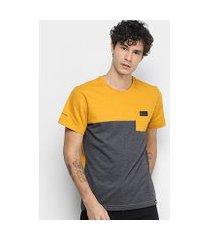 camiseta camaro pocket masculina