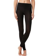 calzedonia - opaque 50 denier soft touch leggings, xs/s, black, women