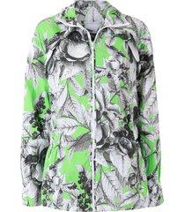 eva flower sketch jacket - grey