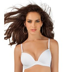 brasier doble realce leonisa 011827 blanco