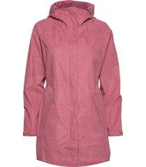 raglan jacket parka lange jas jas roze makia
